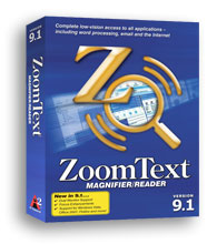ZoomText Magnifier-Reader